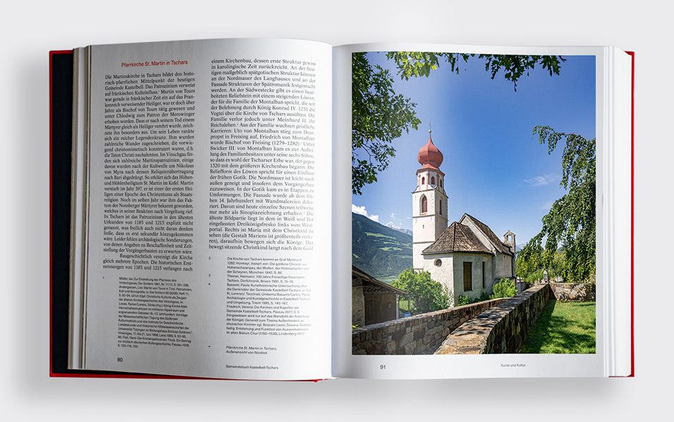 Pfarrkirche Sankt Martin, Gemeindebuch Tschars-Kaselbell